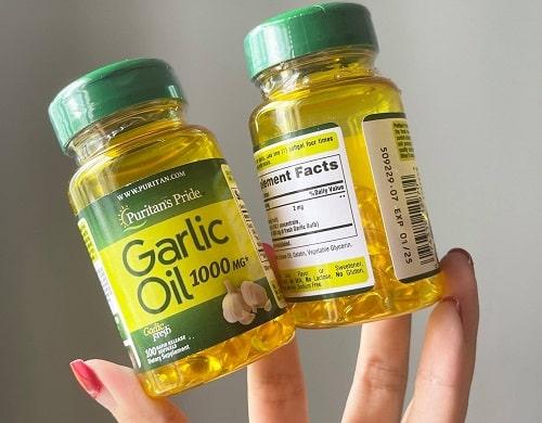 Viên dầu tỏi Odorless Garlic 1000mg giá bao nhiêu?-2