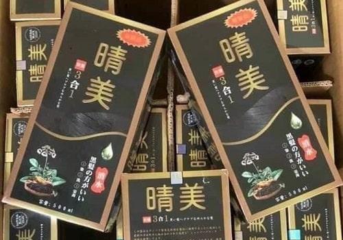 Dầu gội đen tóc Komi Nhật Bản review-1