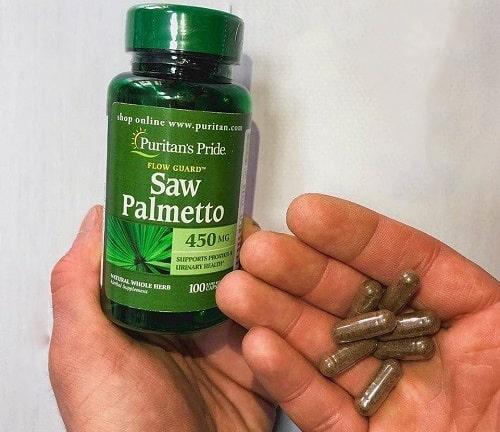 Viên uống Puritan's Pride Saw Palmetto review-4